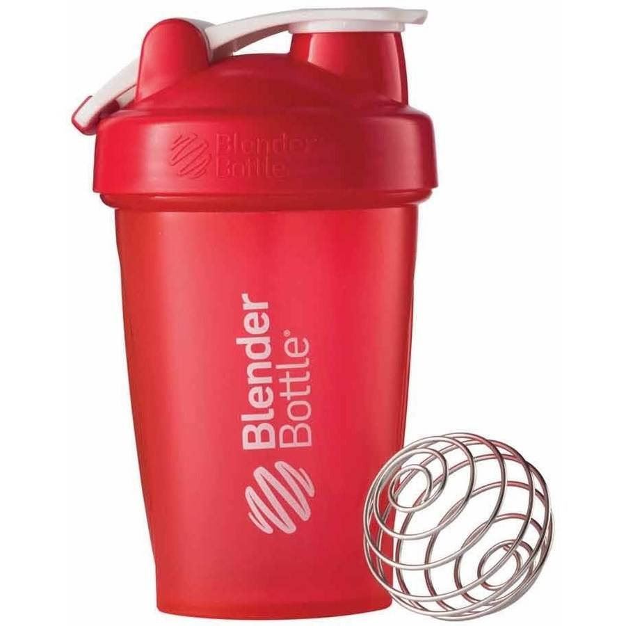 BlenderBottle 20-Ounce Classic Bottle with Loop, Full Color Red
