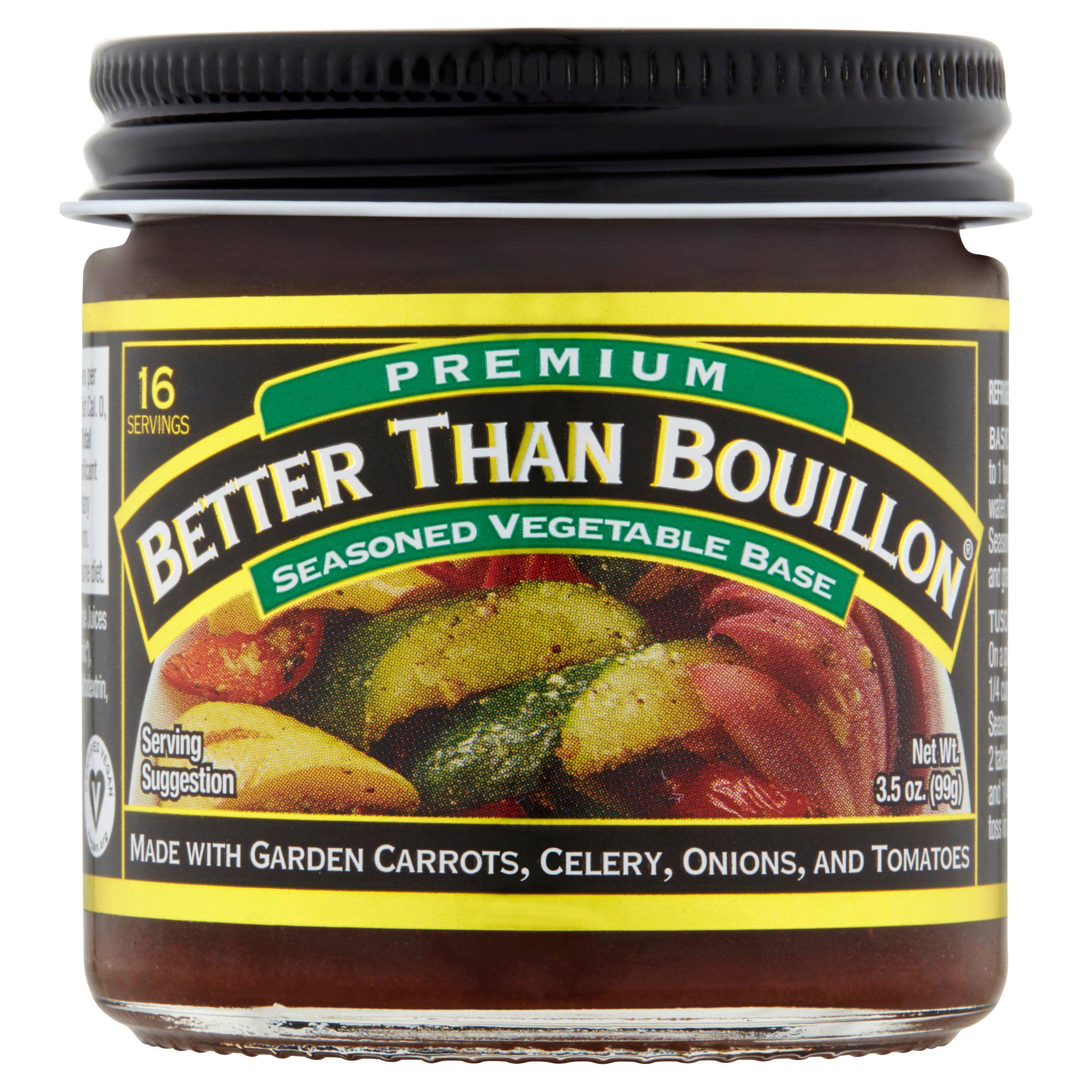 Better Than Bouillon Seasoned Vegetable Base, 3.5 OZ
