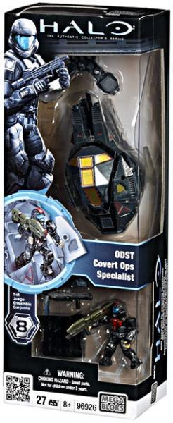 Halo Drop Pod ODST Covert Ops Specialist Set Mega Bloks 96926 by