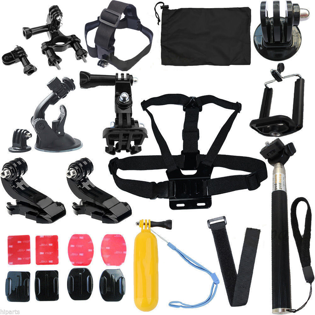 14in1 Head Strap Mount Monopod Floating Accessories For G...