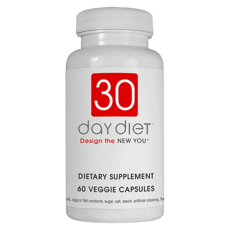 Creative Bioscience 30 Day Diet Rapid Weight Loss Pills, Veggie Ctules, 60