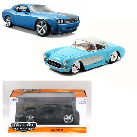 Best of Modern Muscle Cars - Set 49 - Set of Three 1/24 Scale Diecast Model (Best 1970s Muscle Cars)