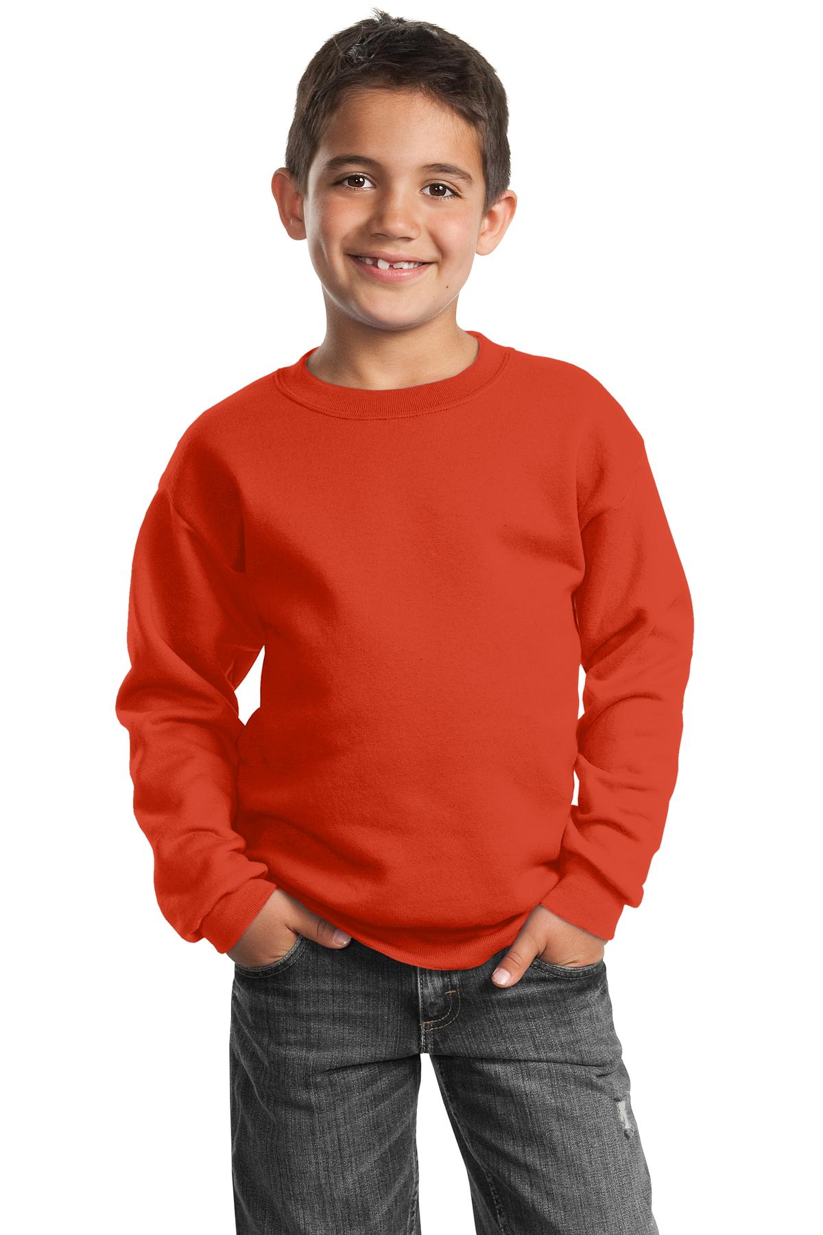 Port & Company - Youth Core Fleece Crewneck Sweatshirt