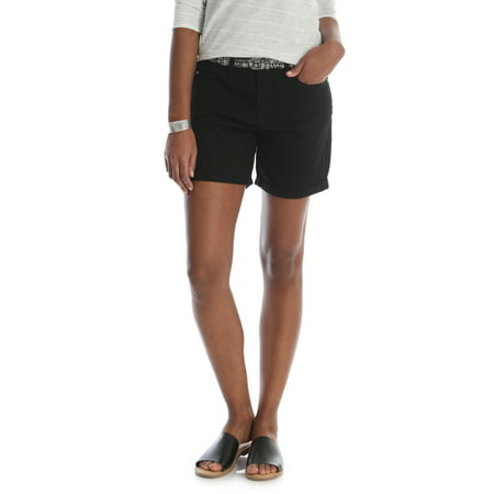 Rise Cuffed Short - Riders by Lee Women's Belted Denim Cuff Short