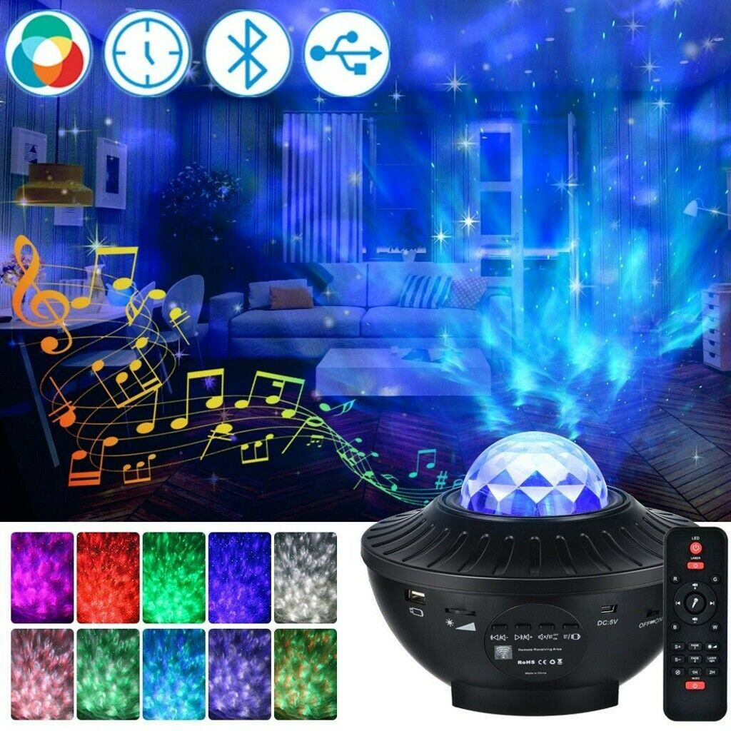 Galaxy Projector Star Light Projector for Bedroom   3 in 1 ...