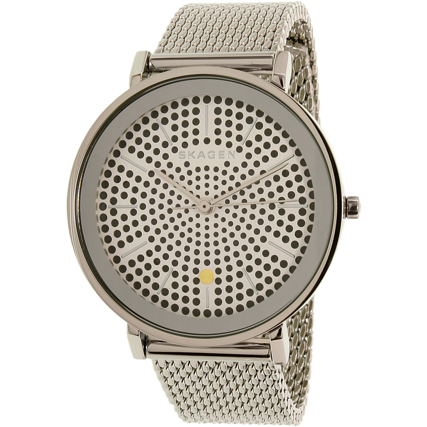 Skagen Men's Hald SKW2446 Silver Stainless-Steel Quartz Watch