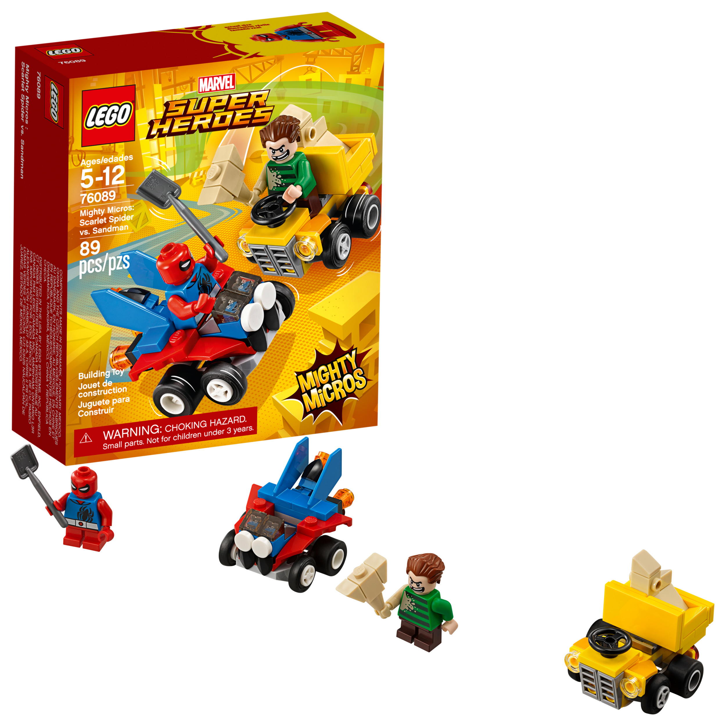 LEGO Super Heroes Mighty Micros: Scarlet Spider vs. Sandman 76089
