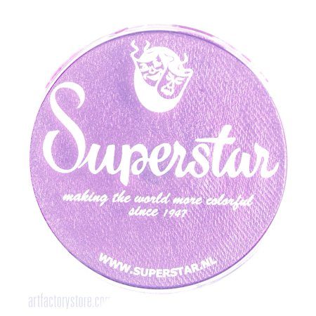 Halloween Face Painting Steps (Superstar Face Paint - Star Purple Shimmer 337, Hypoallergenic, Gluten Free and Cruelty Free - Child Friendly, Great for Fairs, Carnivals, Party and Halloween Painting (16)