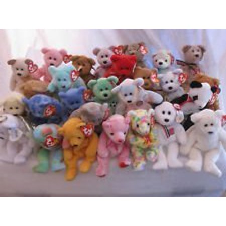 91d9adbb69f Ty Beanie Babies - 10 different BEARS lot - great for birthday parties