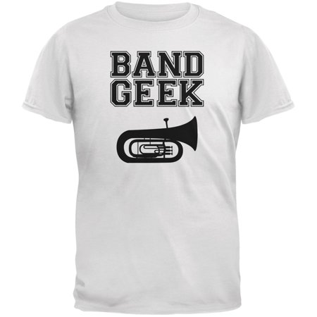 Band Geek Tuba White Adult - Adult Toys Tulsa