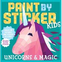 Deals on Paint by Sticker Kids Unicorns & Magic Paperback
