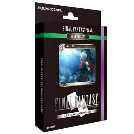 Final Fantasy Trading Card Game Trading Card Game Starter Deck Type 0