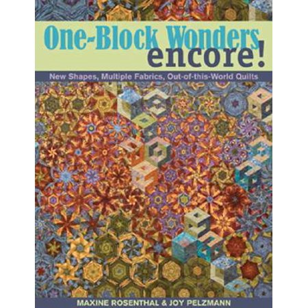 Encore Clickart Fonts (One-Block Wonders Encore! : New Shapes, Multiple Fabrics, Out-Of-This-World Quilts )