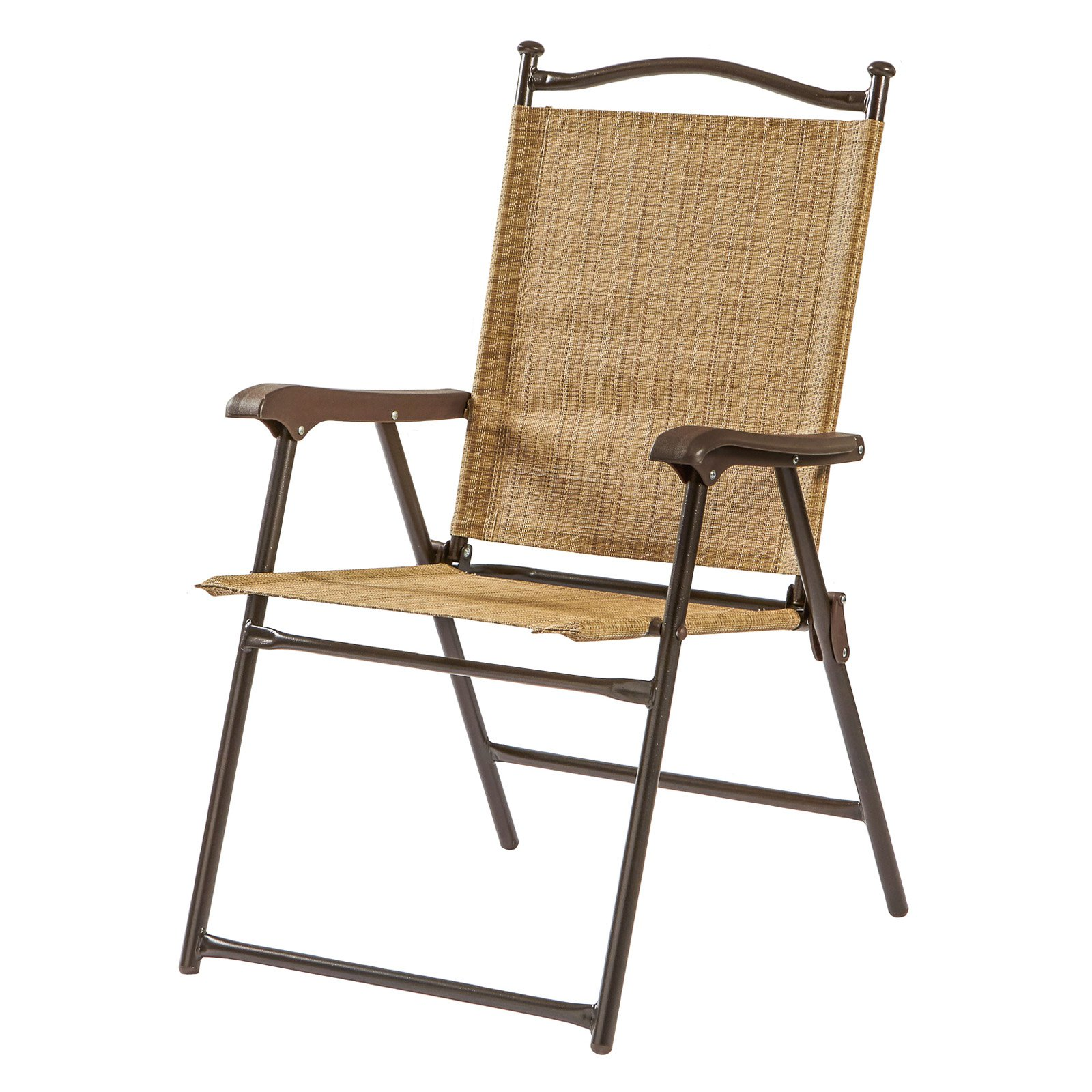 Sling Black Outdoor Chairs, Bamboo, Set Of 2   Walmart.com