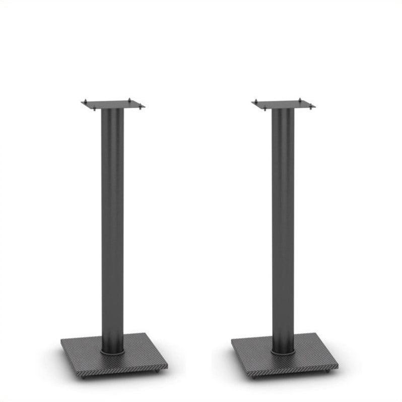 Atlantic Inc Adjustable Bookshelf Speaker Stand In Black