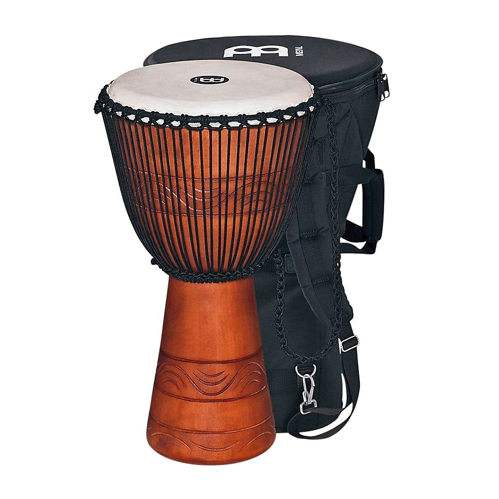 Meinl African Djembe with Bag Large by Meinl