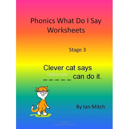 Phonics What Do I Say Worksheets - eBook](Halloween Worksheets For Grade 5)