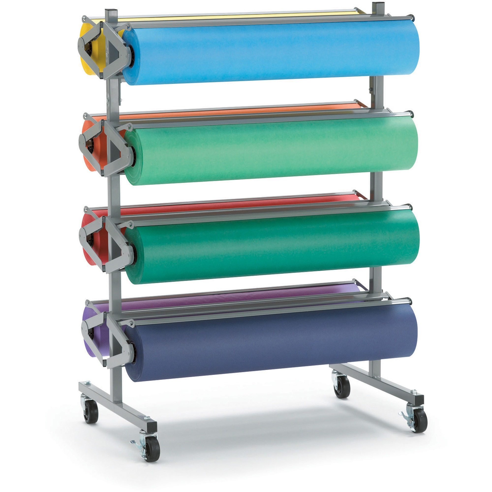 Pacon, PAC67780, Horizontal Art Paper Roll Dispenser, 1 Each, Gray