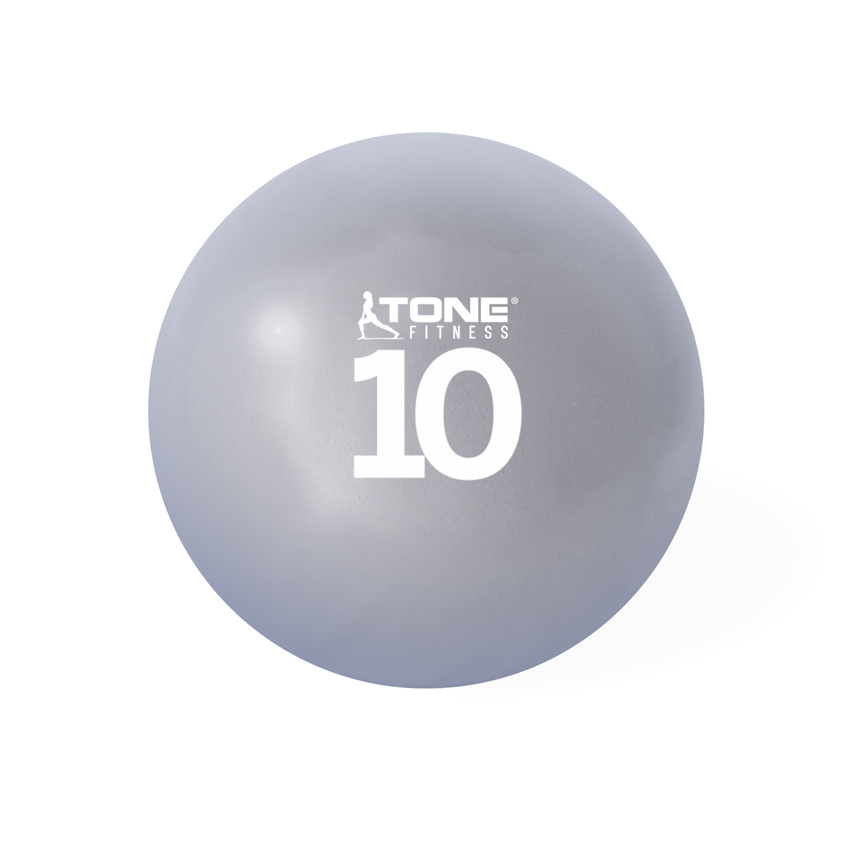 Tone Fitness Soft Weighted Ball, 10 lbs