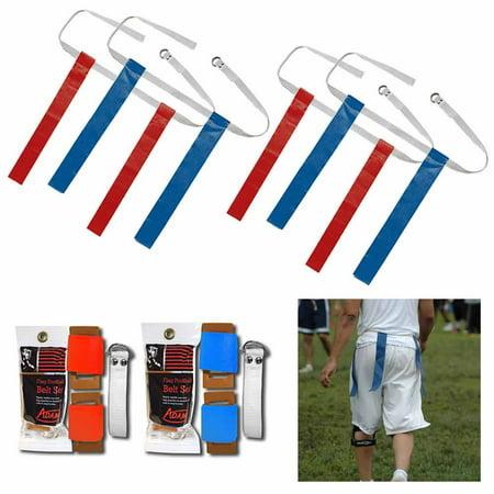 2 Pk Flag Football Belt Set Adjustable Kids Adult Fun Game Belt Foot Ball Kit !! - Flag Football Set