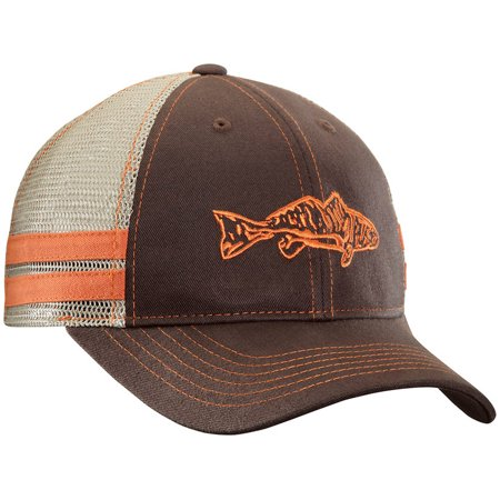 Flying Fisherman Red Fish Trucker Hat (Hat Fish)