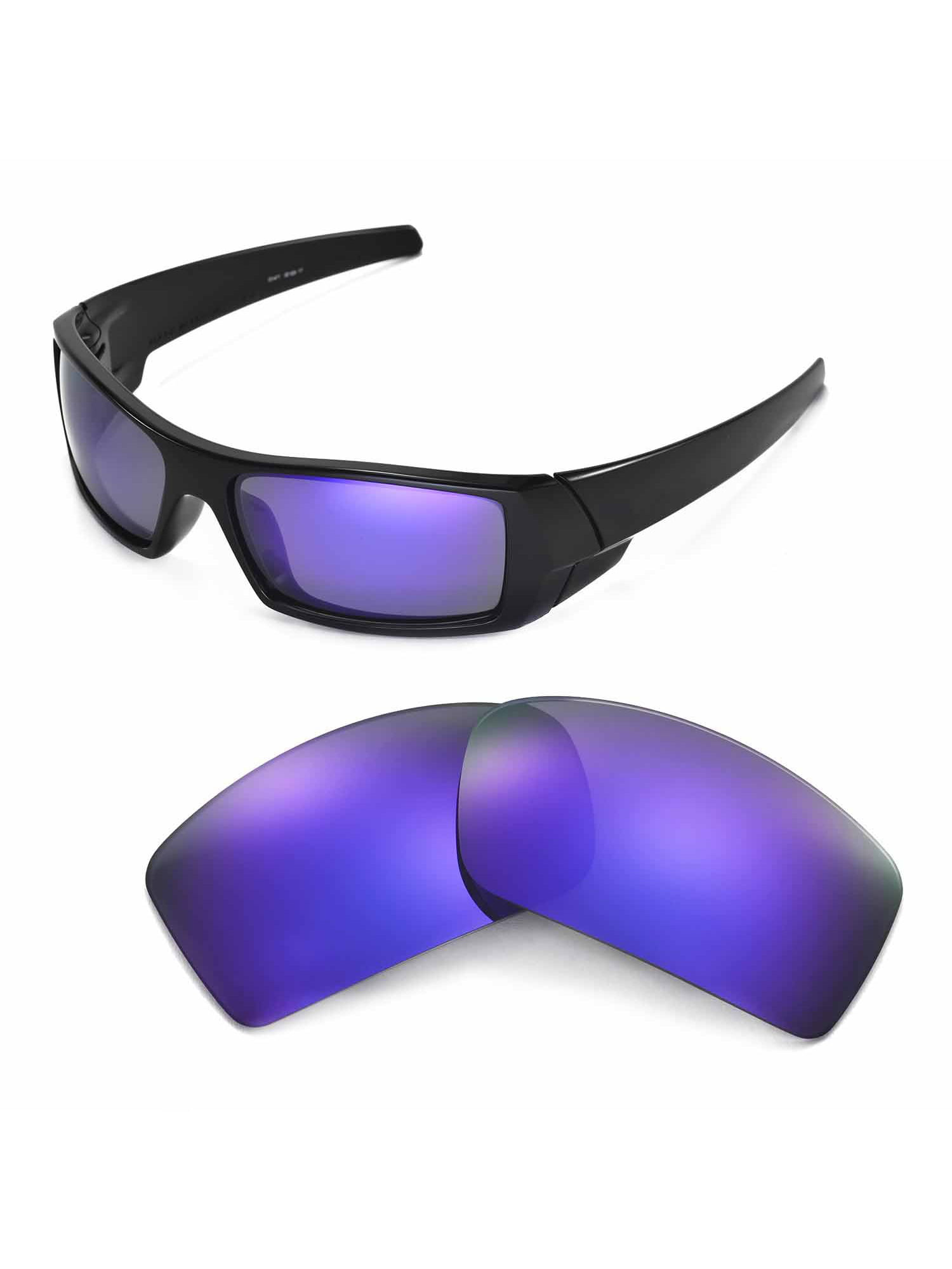 Purple Polarized Replacement Lenses For Gascan Sunglass