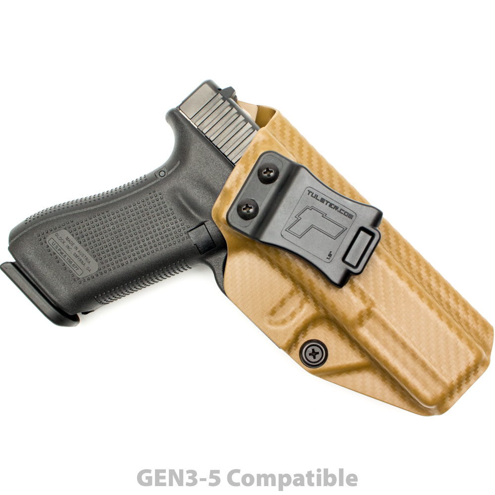 Glock 17 22 31 Profile Holster Right Hand by Tulster, LLC
