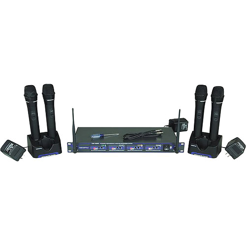 Voco Pro Vocopro Uhf - 5805 Four Channel Uhf Professional Rechargeable
