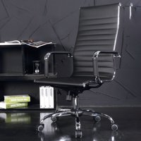【LNCDIS】Office Chair Leather Desk Gaming Chair With Massage Function Adjust Seat Height