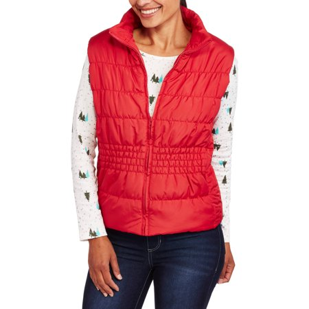 Climate Concepts Women's Quilted Puffer Vest