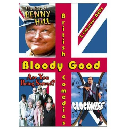Bloody Good British Comedies (Clockwise   Are You Being Served? The Movie   The Best of Benny Hill) by