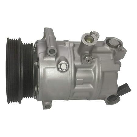 2005 Jetta Gl - RYC Remanufactured AC Compressor and A/C Clutch AIG567 Fits 2005, 2006, 2007, 2008, 2009, 2010, 2011, 2012, 2013, 2014 VW Jetta 2.5L