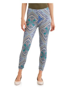 d4ab532a2d2ac Product Image Women's Printed Culotte in Capri Length With Crochet  Waistband Detail