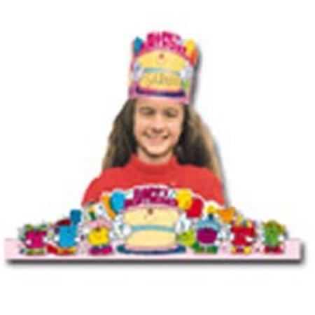 Birthday Crowns 2-Tier Cake-30/Pk - image 1 de 1