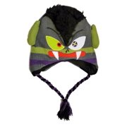 Aquarius Boys Gray Vampire Peruvian Hat Monster Trapper