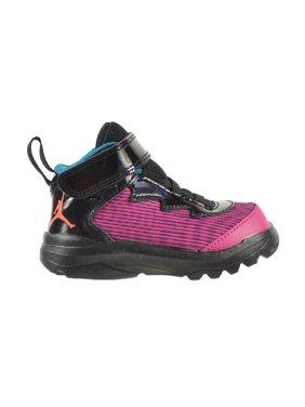 Jordan Super.Fly 3 BT Toddler Shoes Fusion Pink/Electric Orange/Black 684938-625 (4 M US)