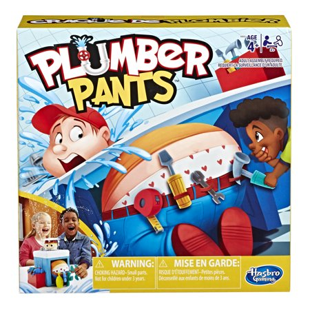 Prank the Plumber! Plumber Pants Preschool Game For Kids Ages 4 and Up