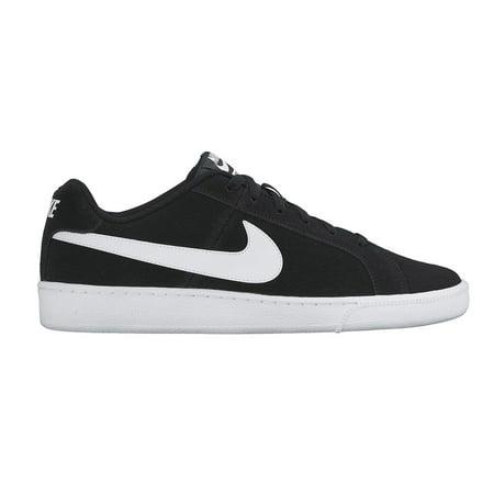 Nike - Men s Nike Court Royale Suede Shoes Black  White 11 - Walmart.com 9ec1bdbd9342