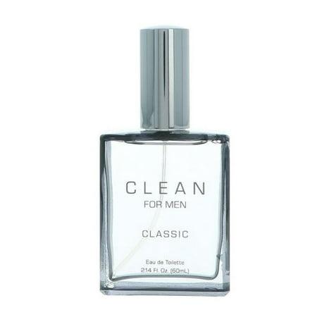 Clean Classic Cologne for Men, 2.14 Oz (Classic Men Cologne)