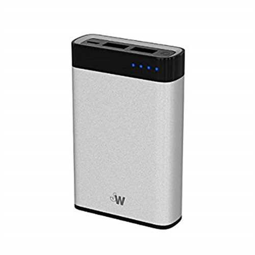 Just Wireless Portable Charger Power Bank External Battery Pack 6,000mAh Phone Charger for Apple iPhone Including XS, XS Max,