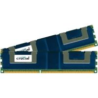 Crucial CT2K16G3ERSDD4186D Crucial 32GB Kit (16GBx2), 240-pin DIMM, DDR3 PC3-14900 Memory Module - 32 GB (2 x 16 GB) - DDR3 SDRAM - 1866 MHz DDR3-1866/PC3-14900 - 1.50 V - ECC -