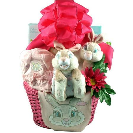 Gift Basket Village Eawimibu Easter With Miss Bunny A Baby Girl Easter Basket