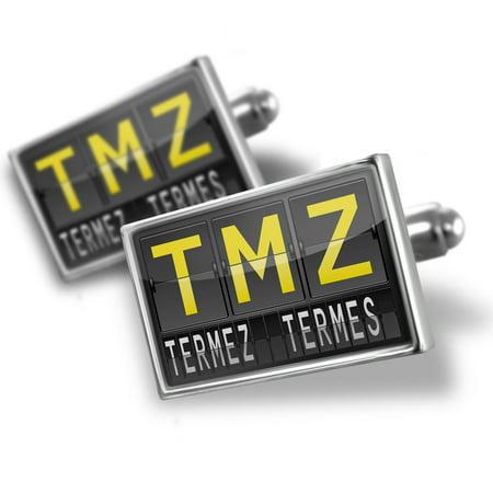 Cufflinks Tmz Airport Code For Termez  Termes    Neonblond