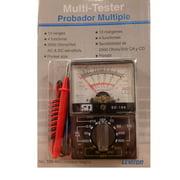 Leviton Range Multimeter Multi-Tester for testing Volts Ohms & Amps 48924