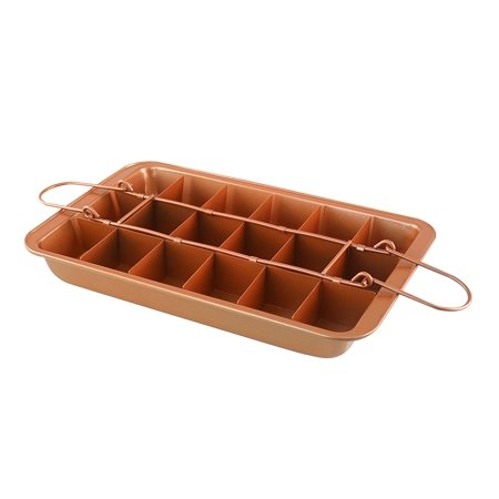 - Copper Brownie Pan