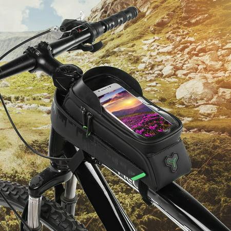 Ejoyous Bike Phone Holder, Waterproof Bike Bag,Bike Motorbike Handlebar Mount Holder Waterproof Bag Case for Phone GPS - image 3 of 8