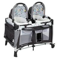 Deals on Baby Trend Go-Lite Twins Nursery Center Playard