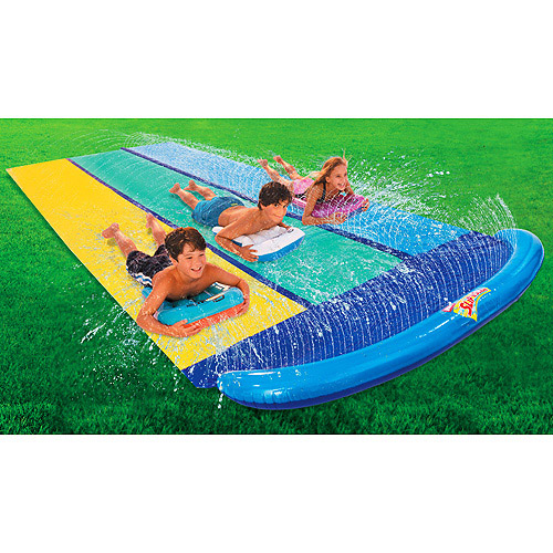 Wham-O Slip 'N Slide Triple Racer with 3 Boogies