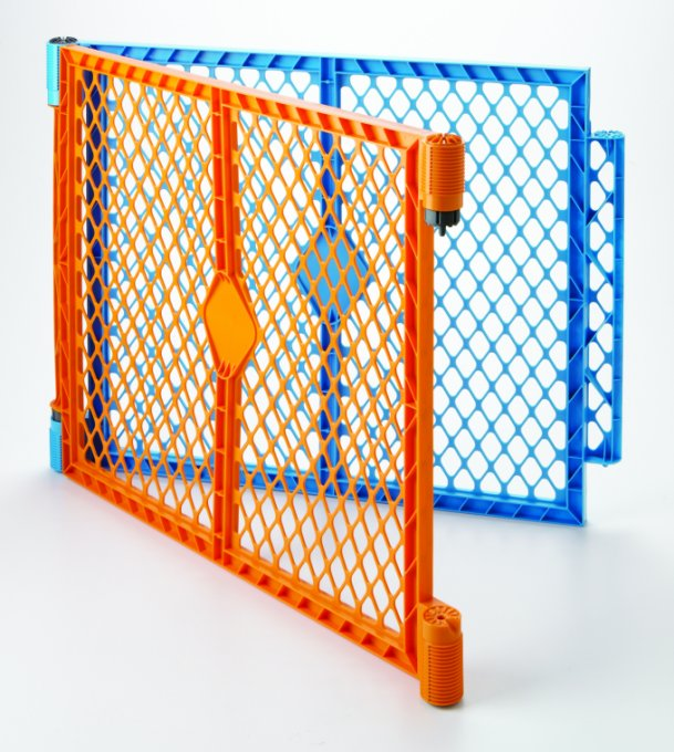 North States Colorplay Superyard Baby/Pet Gate Extension Kit - 2 Panel | 8762