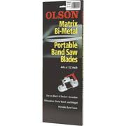 Olson 44-7/8 In. x 1/2 In. 14/18 TPI Vari Metal Cutting Band Saw Blade BM92641